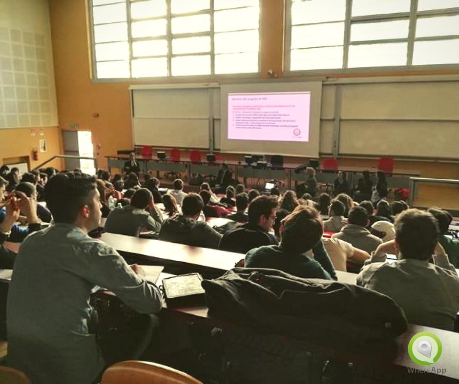 Presentazione WhereApp a Universita RomaTre
